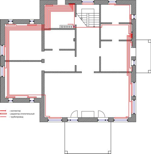 Проект 1 этаж